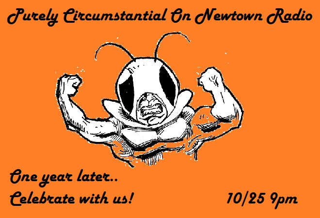 1 Year of PC on Newtown Radio! We celebrate with art +music